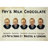 Frys 5 Boys - Metal Wall Sign (3 sizes)