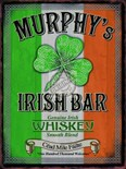 Murphy's Irish Bar Pub Sign - A3 Metal Wall Sign