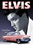 Elvis - Pink Cadillac Metal Wall Sign (2 sizes)