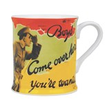 NEW IN.. Boys Come over here Mug