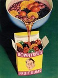 Rowntree's Fruit Gums A3 Tin Sign