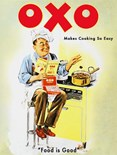 OXO - Metal Wall Sign (3 sizes)