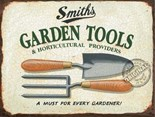Smiths Garden Tools - A3 Metal Wall Sign