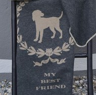 My Best Friend Dog Blanket