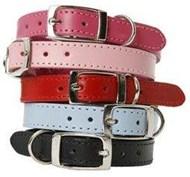 DOGUE Plain Jane Leather Dog Collars