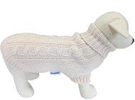 Handknitted Brighton Dog Sweater - Cream