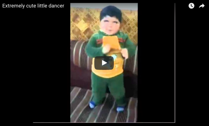 Extremely cute little dancer