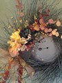 Fall Flower Pot Wreath