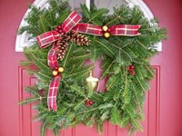 Square Wreath-18""