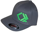 Offset Logo - Curved Brim - FlexFit Hat
