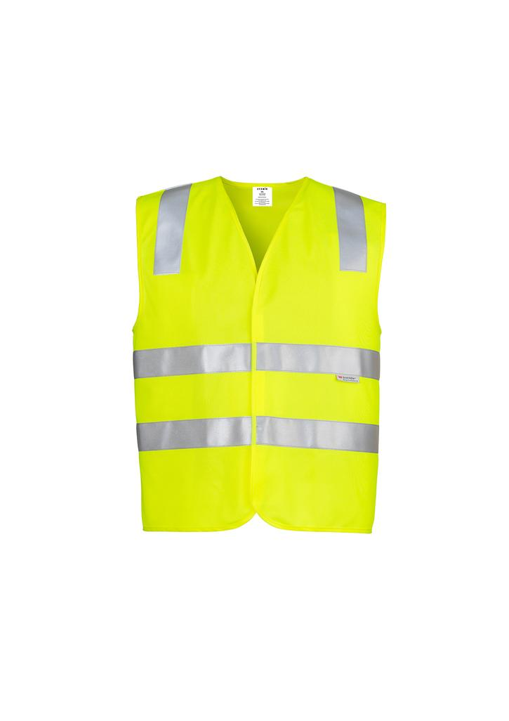 e654f34f6ce65 HI VIS (D+N) VEST Uniforms   Workwear by Beetle branding