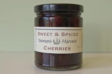 Sweet & Spiced Cherries