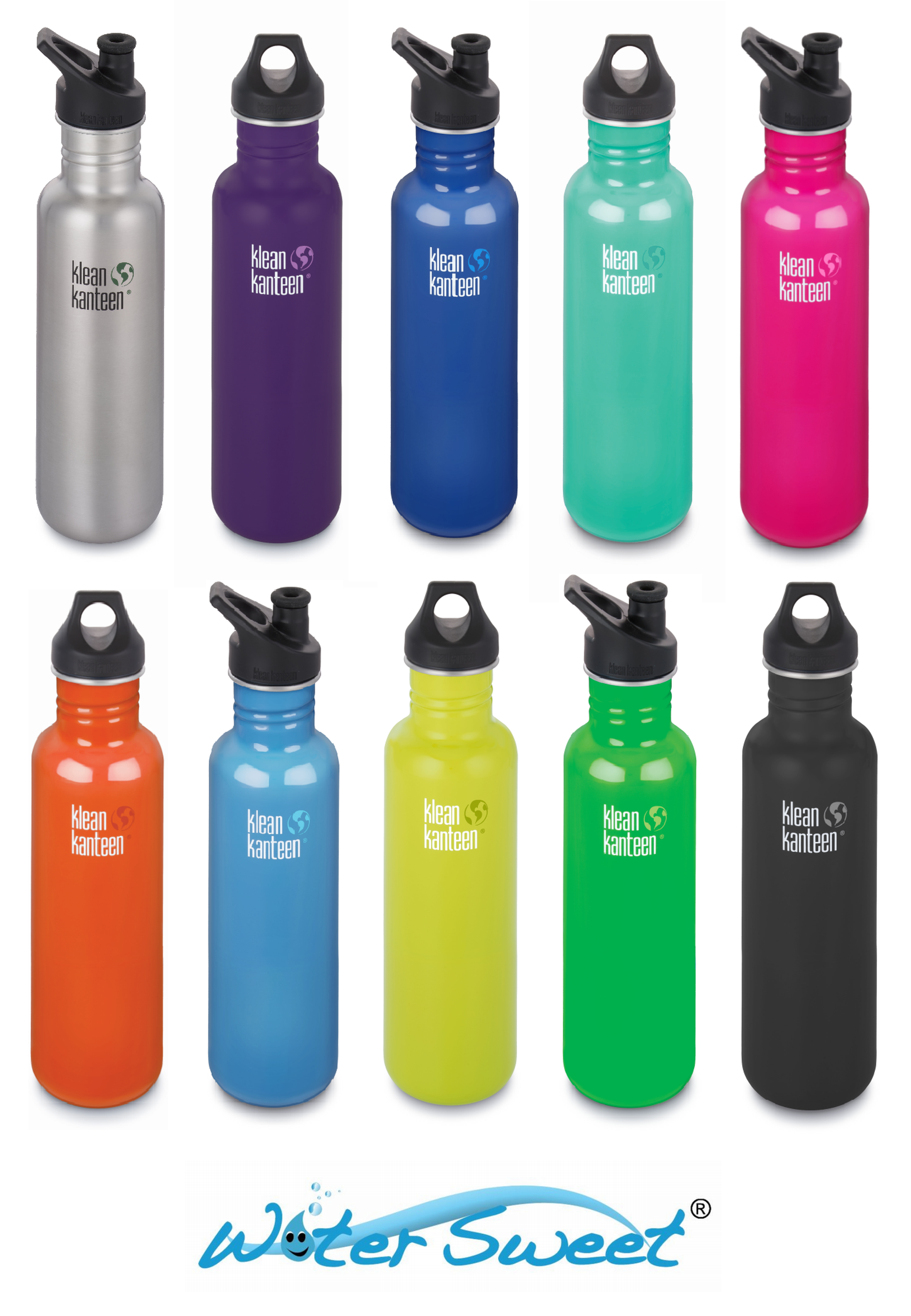 Klean Kanteen Classic 27 Oz 800 Ml Choose From Nine
