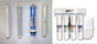 AquaPro Slimline 4 Stage Reverse Osmosis Replacement Filter & RO Element Set