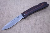 BENCHMADE BIG SUMMIT LAKE FOLDING KNIFE - WOOD HANDLES