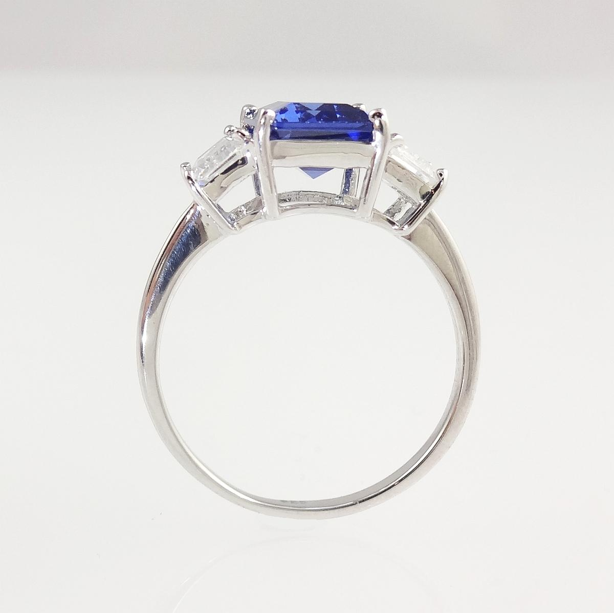 classic square cut sapphire engagement ring heavenly