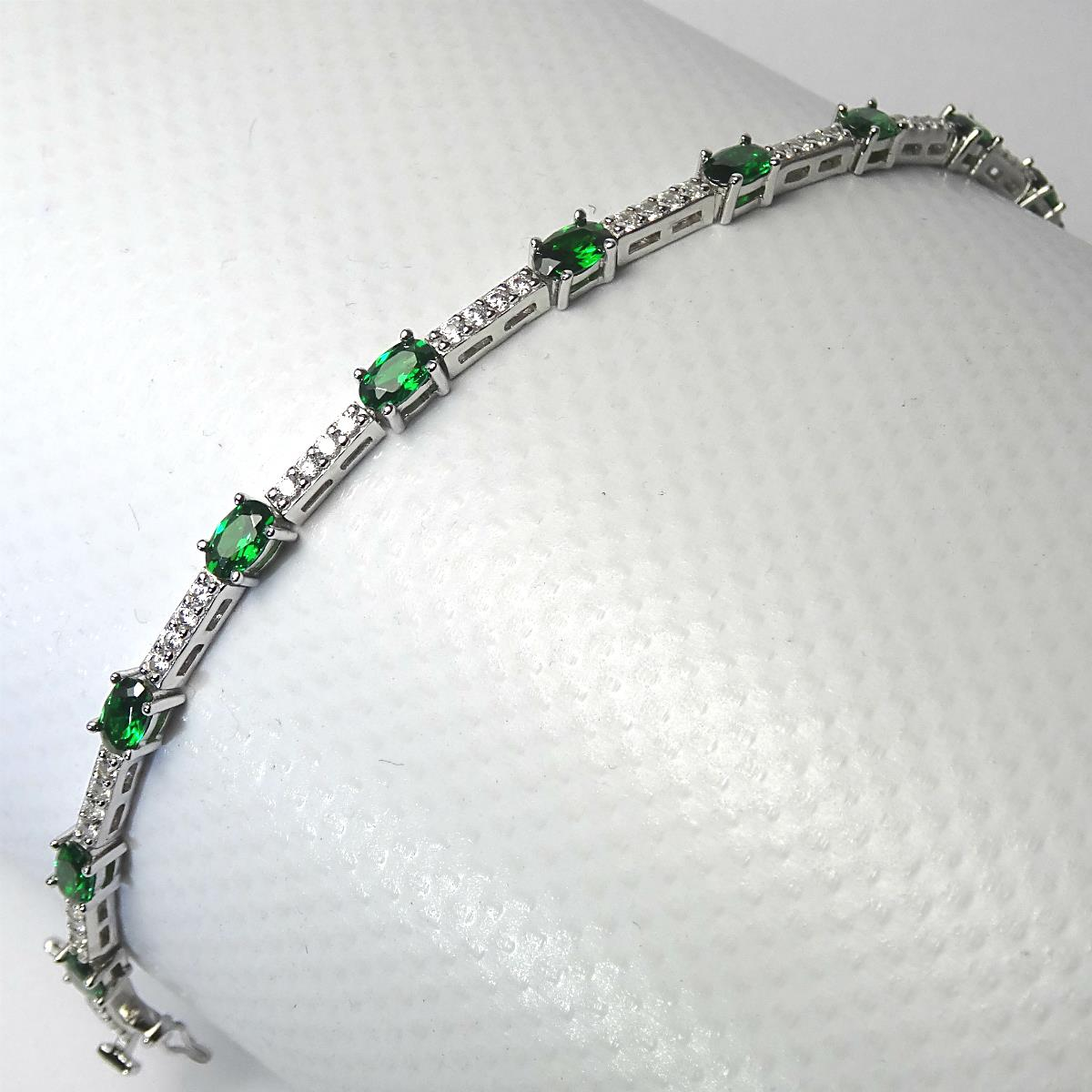the oval gemstone tennis bracelet heavenly necklaces