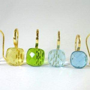 The Cube-Cut 'Cube' Earring - wonderful NEW summer colours!