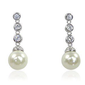 The 'Pearl and Diamond' Earrings