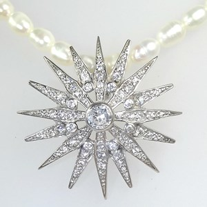 The Magnificent Star Brooch and Pendant