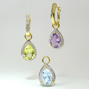 Gold Teardrop Truly Amazing Earrings