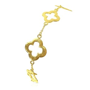 The Gold Clover Bracelet