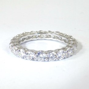 The New Claw-Set Classic Eternity Ring