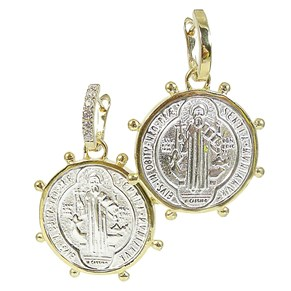 The Large Coin Earrings