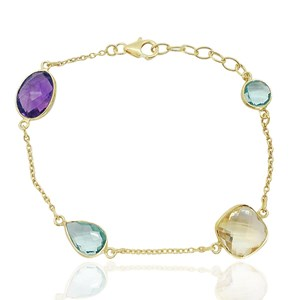 The Magnificent Multi-Gem Bracelet