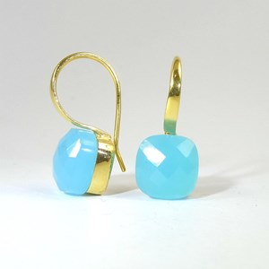 The Cube-Cut 'Cube' Hook Earring for a dash of colour