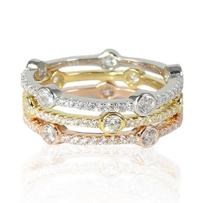 The Jupiter Rings - stackable heaven!