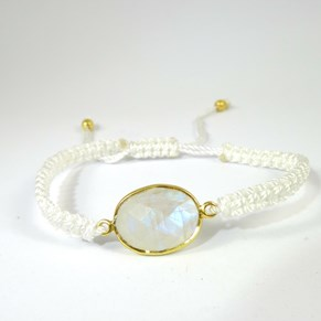 The Fabulous Gemstone and Silk Thread Bracelets