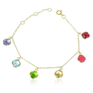 The Rainbow Clover Bracelet