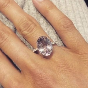 The Pale Amethyst  'Instagram' Ring