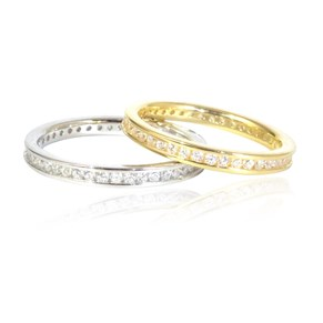 The 2.5mm Eternity Band