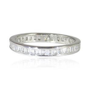 The Finer Baguette Diamond Eternity Ring