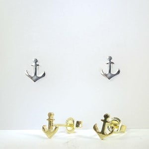 Little Anchor Earrings