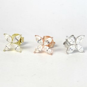 The Delicate Flower Studs