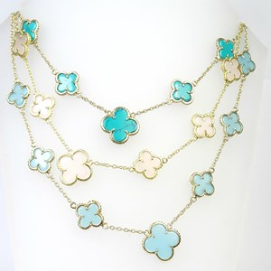 The Fabulous Clover Necklaces