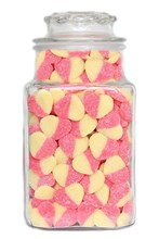 Sour Peach Hearts - 175g