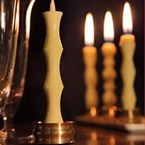 Nanao Brass Candle Holder set