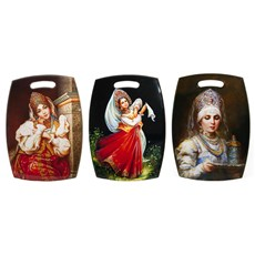 Russian Beauty, <br> Souvenir Chopping Board