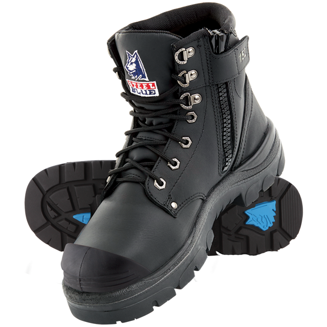 Steel Blue Safety Shoes