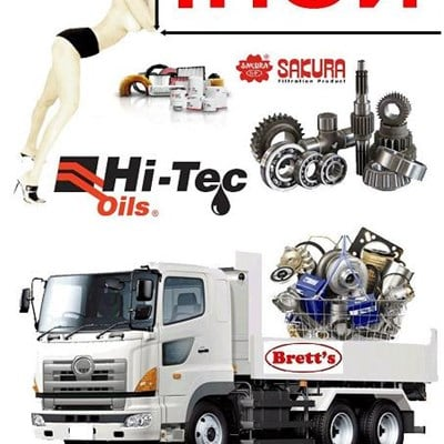 New Hino Turbocharger Cross Refrences At Bretts Truck Parts.