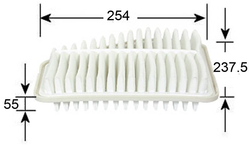 a21015 air filter for rav4 gsa33