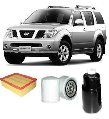 KIT4014 FILTER KIT NISSAN PATHFINDER R51 2 5L DCI TURBO
