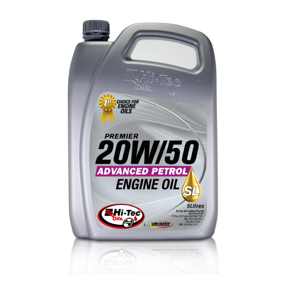 Ht2000 005 5 ltr engine oil 20w 50 sg sj cf sl acea e2 04 for 20w50 motor oil temperature range