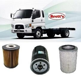 kit5016 filter kit hyundai truck hd75 engine 3 9l litre. Black Bedroom Furniture Sets. Home Design Ideas