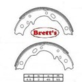 11526.021 H/BRAKE HANDBRAKE SHOES SHOE PR PAIR  PARK BRAKE MITUSBISHI ROSA BUS + IMPORT BE434 1986- BE649 BE64D BE BE64
