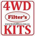 KIT9016 BRETTS FILTERS 4WD FILTER KIT RSK3 RSK3C TOYOTA PRADO KZJ120 3.0L 3L TURBO DIESEL 1KZ-TE 1KZTE 2003-  OIL FUEL AIR FILTER SERVICE SET K-11091 MK13562